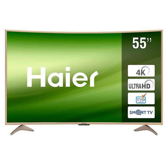 Televisor Curvo Smart LED Haier LE55Q9000DUA 55