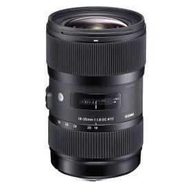 Lente Sigma DC 18-35mm f/1.8 ART para Canon