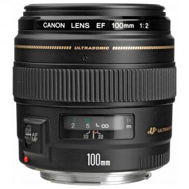 Lente Canon EF 100mm f/2 USM