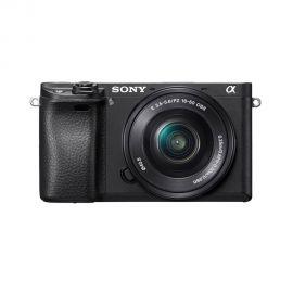 Câmera Sony Alpha a6300 16-50 mm f/3.5-5.6 - Preto