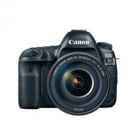 Câmera Canon EOS 5D Mark IV 24-105 mm f/4 IS II USM (Garantia Brasil)