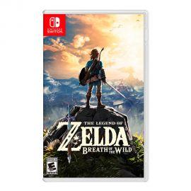 Videojuego Nintendo Zelda Breath Of The Wild para Nintendo Switch