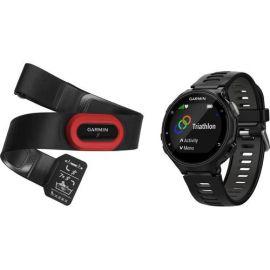 Relógio Smartwatch Garmin Forerunner 735XT + Hrm - Preto/Cinza