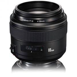 Lente Yongnuo YN-85mm f/1.8 para Canon