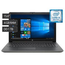 """NOTEBOOK HP 15-DA0010LA 15.6"""" I5-8250U/1.6/4GB/1TB/15.6""""/ESP/W10 TESTE CINZA ESCURO"""
