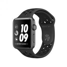 Apple Watch S3 Nike + caja de aluminio en gris espacial y correa deportiva en color gris espacial 42 mm - MTF42LL/A