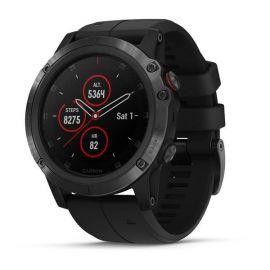 Relógio Smartwatch Garmin Fenix 5X Plus Cristal de Zafiro - Preto