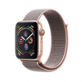 Apple Watch S4 caja de aluminio en dorado y correa loop deportiva en color rose 40 mm - MU692LZ/A