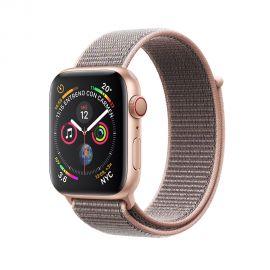 Apple Watch S4 (GPS + cellular caja de aluminio en dorado y correa loop deportiva en color rose 44 mm - MTVX2BZ/A