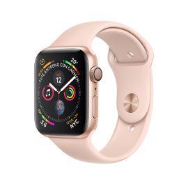 Apple Watch S4 caja de aluminio en dorado y correa banda deportivo en color rose 40 mm - MU682BZ/A