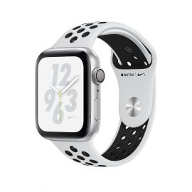 Apple Watch S4 Nike + caja de aluminio en plata y correa deportiva en color plata 40 mm - MU6H2LL/A