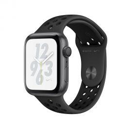 Apple Watch S4 Nike + caixa de alumínio em cinza espacial e correia esportiva em cor cinza espacial