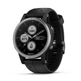 Relógio Smartwatch Garmin Fenix 5S Plus - Preto/Prata