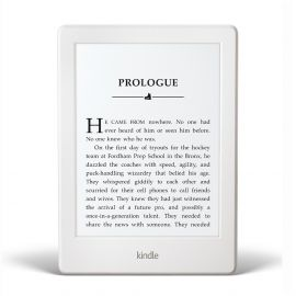 "Libro Electrónico Amazon Kindle 6"" Wifi 4 GB - Blanco"
