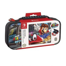 Estuche para Nintendo Switch RDS Industries Mario Odyssey Traveler Deluxe NNS58