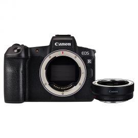 Cámara Canon EOS R Cuerpo con Adaptador EOS R para Lentes EF/EF-S