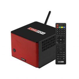 Receptor FTA Cinebox Extremo Z HD Wifi - Preto/Vermelho