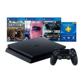 Consola Sony PlayStation 4 Slim 2215B + 1 Juego (FIFA 19) Bivolt
