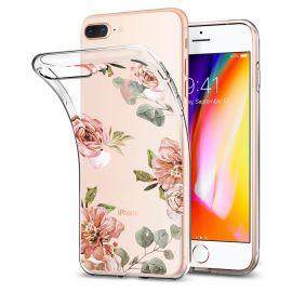 Estojo Protetor Spigen Liquid Crystal Aquarelle para iPhone 7/8 Plus - Rose