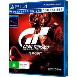 Jogo PS4 Gran Turismo Sport
