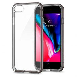 Estojo Protetor Spigen Neo Hybrid Crystal 2 para iPhone 7/8 - Cinza