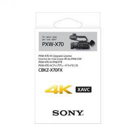 Licencia de Actualizacion 4K Sony CBKZ-X70FX para Sony PXW-X70