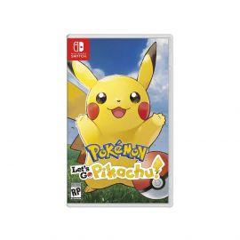 Jogo Pokemon lets go pikachu para Nintendo Switch