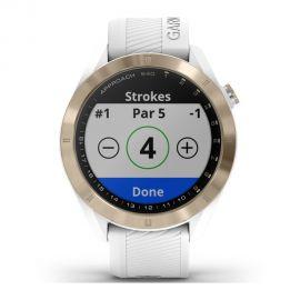 Reloj Smartwatch Garmin Approach S40 Golf - Blanco