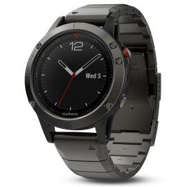 Reloj Smartwatch Garmin Fenix 5 Cristal de Zafiro - Negro
