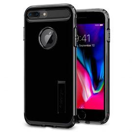 Estojo Protetor Spigen Slim Armor para iPhone 7/8 Plus - Preto