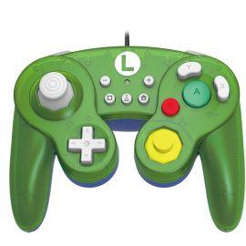 Controle para Nintendo Switch Hori Battle Pad (Luigi) NSW-136U