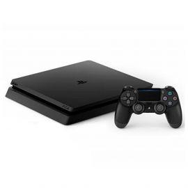 Consola Sony PlayStation 4 Slim 2216A + 1 Juego (FIFA 19) Bivolt 500 GB - Negro (Cargador Europero)