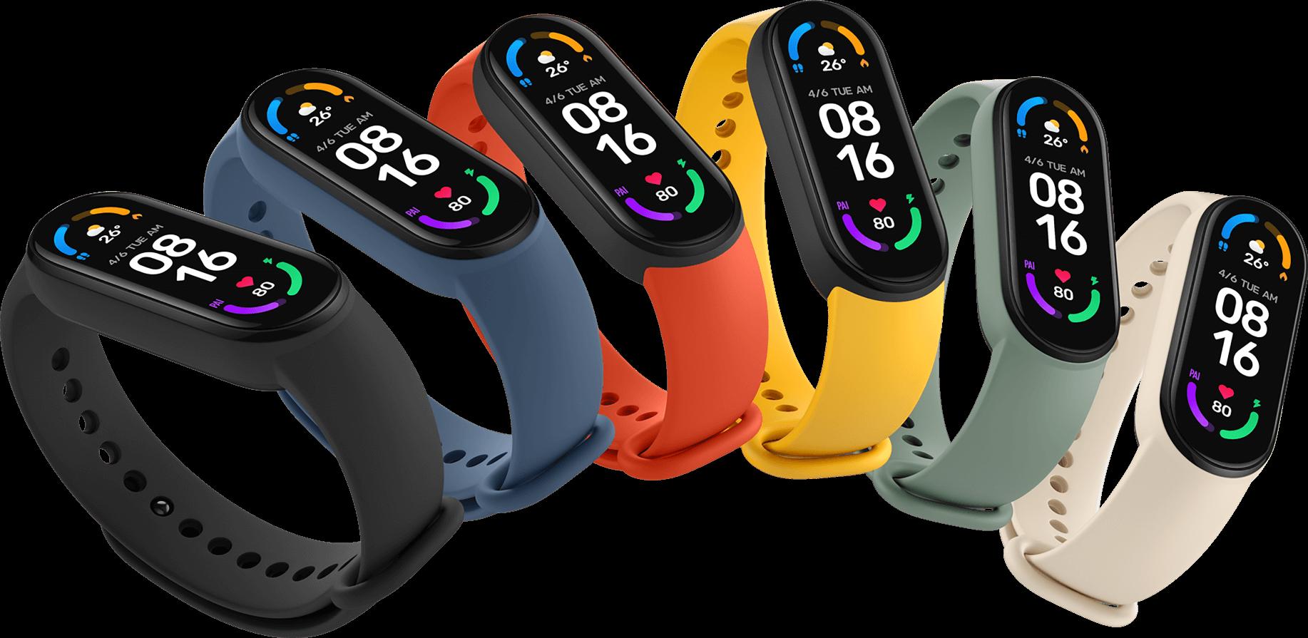 Relógio Xiaomi Mi Smart Band 6 - Preto